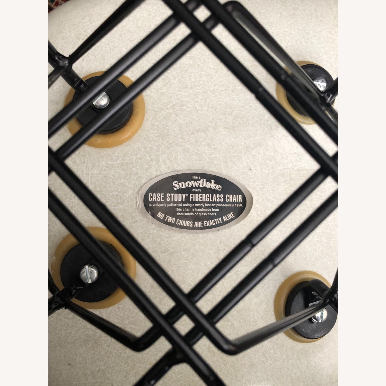 Early Rope-Edge Fiberglass Armchair - image-3