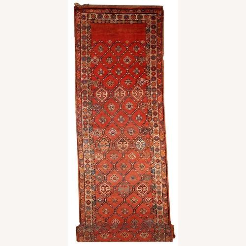Used Handmade antique Persian Kurdish runner, 1B444 for sale on AptDeco