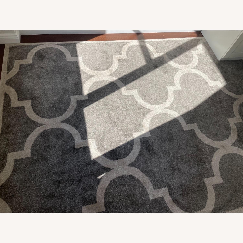 Wayfair Gray Area Rug 8x10 - image-4