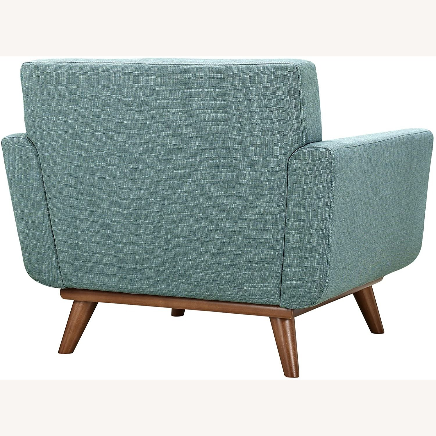 Armchair In Laguna Fabric W/ 3 Tufted Buttons - image-2