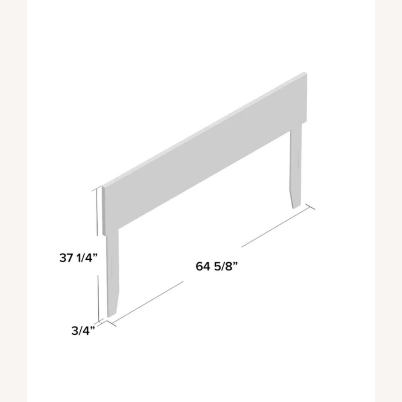 Wayfair White Full Headboard & Adjustable Bed Frame - image-3