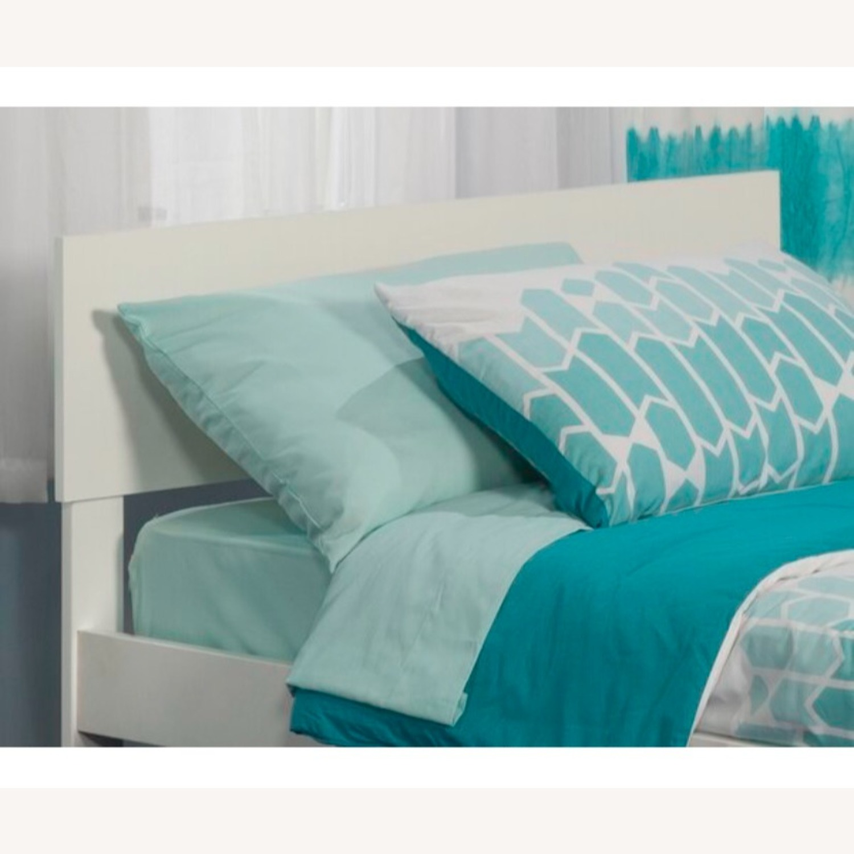 Wayfair White Full Headboard & Adjustable Bed Frame - image-2