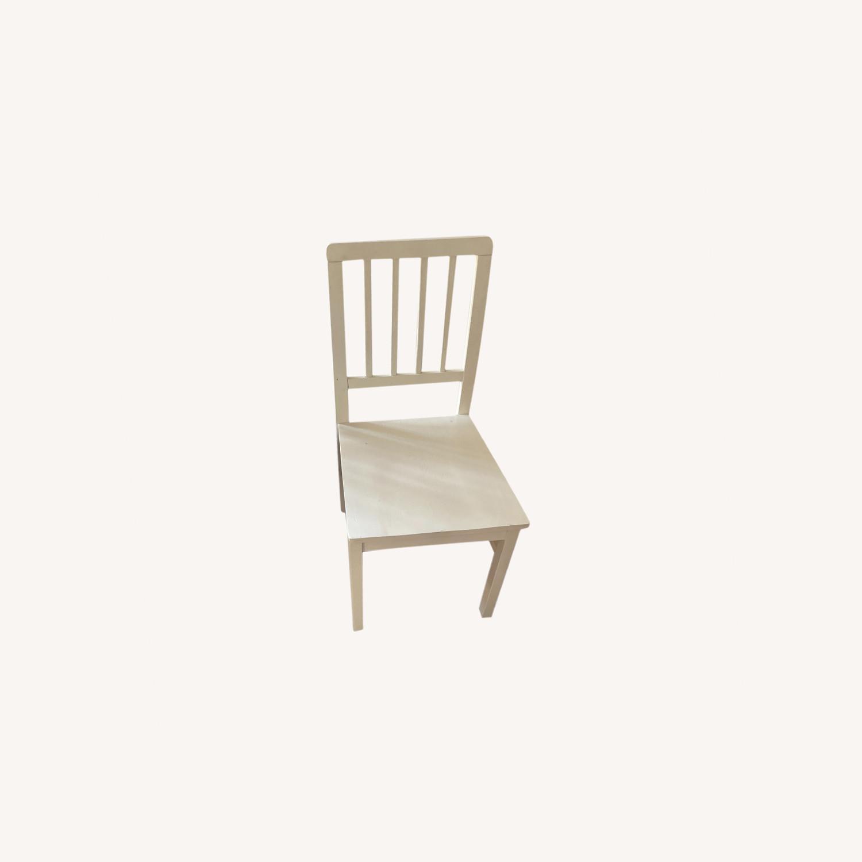 Wayfair 4 White Dining Chairs - image-0