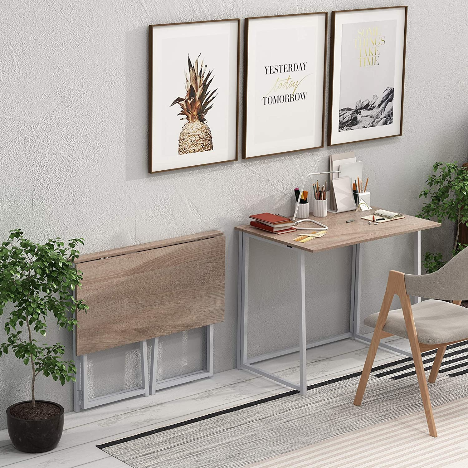Small Folding Home Office Desk - image-2