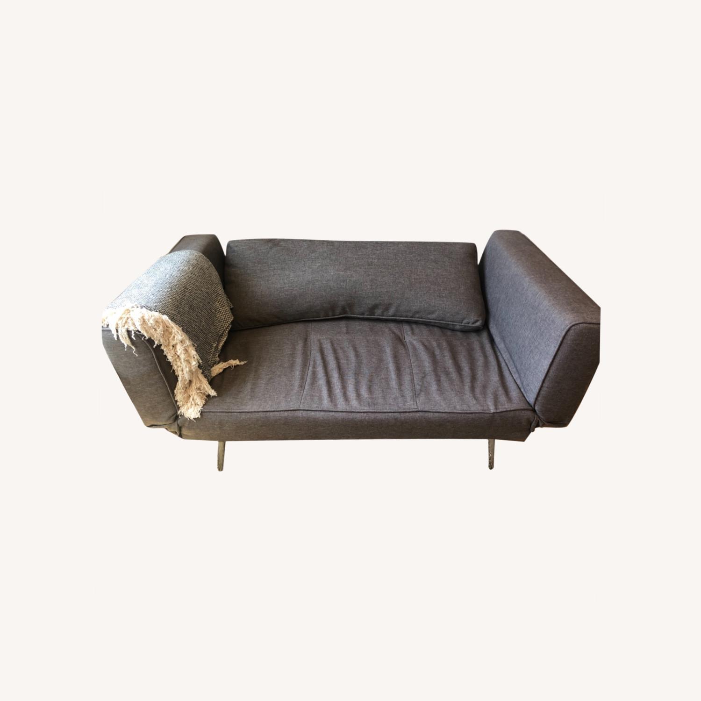 Wayfair Gray Sleeper Futon - image-0