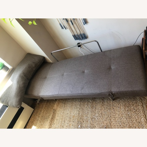 Used Wayfair Gray Sleeper Futon for sale on AptDeco