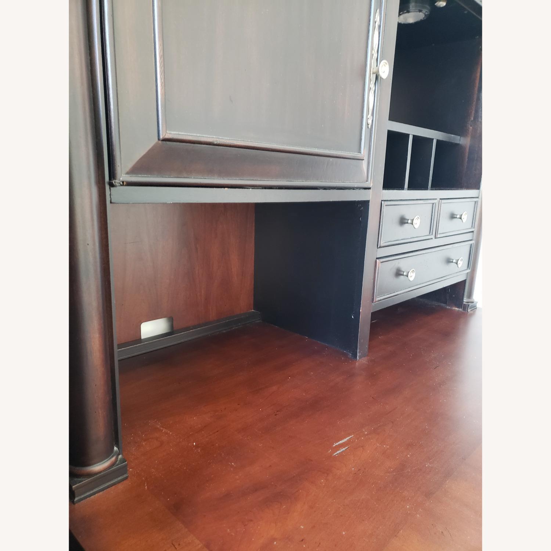 Aspenhome Desk, Hutch, and Filing Cabinet set - image-8