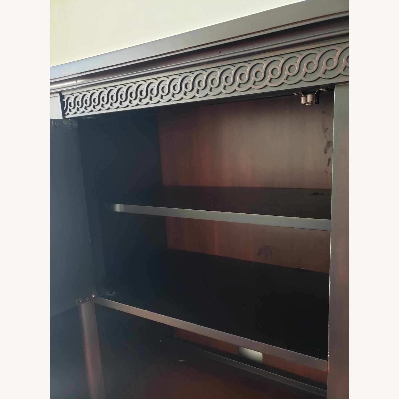 Aspenhome Desk, Hutch, and Filing Cabinet set - image-10