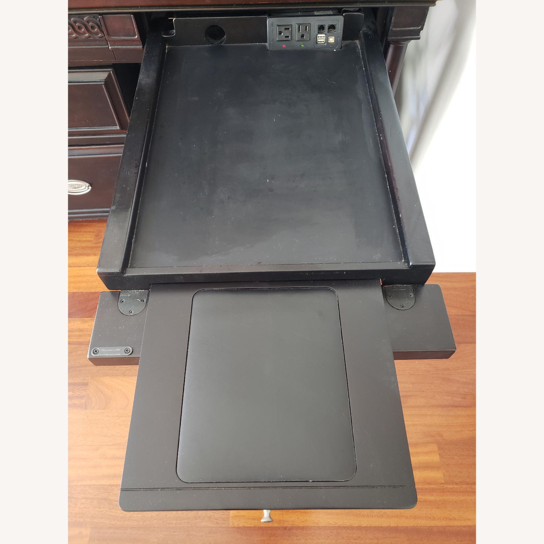 Aspenhome Desk, Hutch, and Filing Cabinet set - image-5