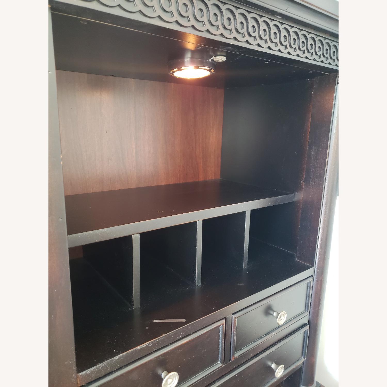 Aspenhome Desk, Hutch, and Filing Cabinet set - image-12