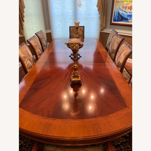 Used Dining Table & Chairs (Italian-imported) for sale on AptDeco