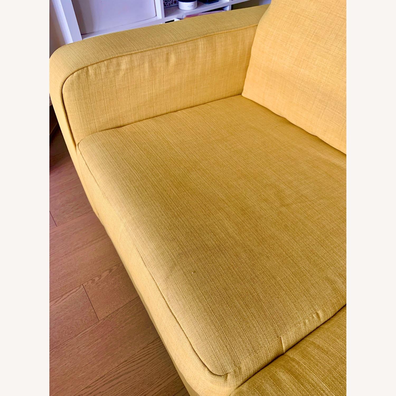 Urban Outfitters Yellow 2-Seat Sleeper Sofa - image-4
