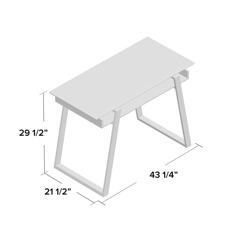 Wayfair Bartling Glass Desk - image-3