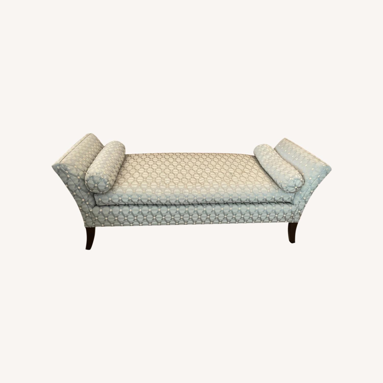 Seafoam Patterned Daybed - image-0