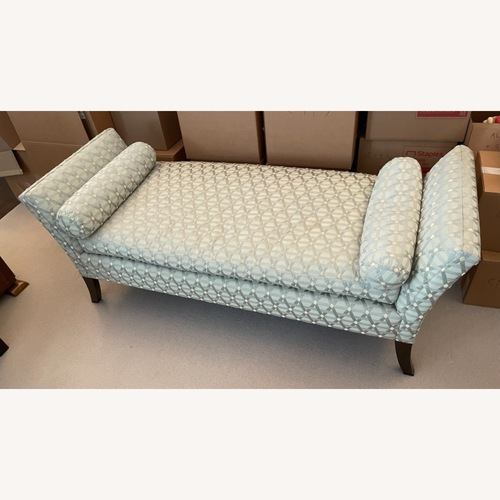 Used Seafoam Patterned Daybed for sale on AptDeco
