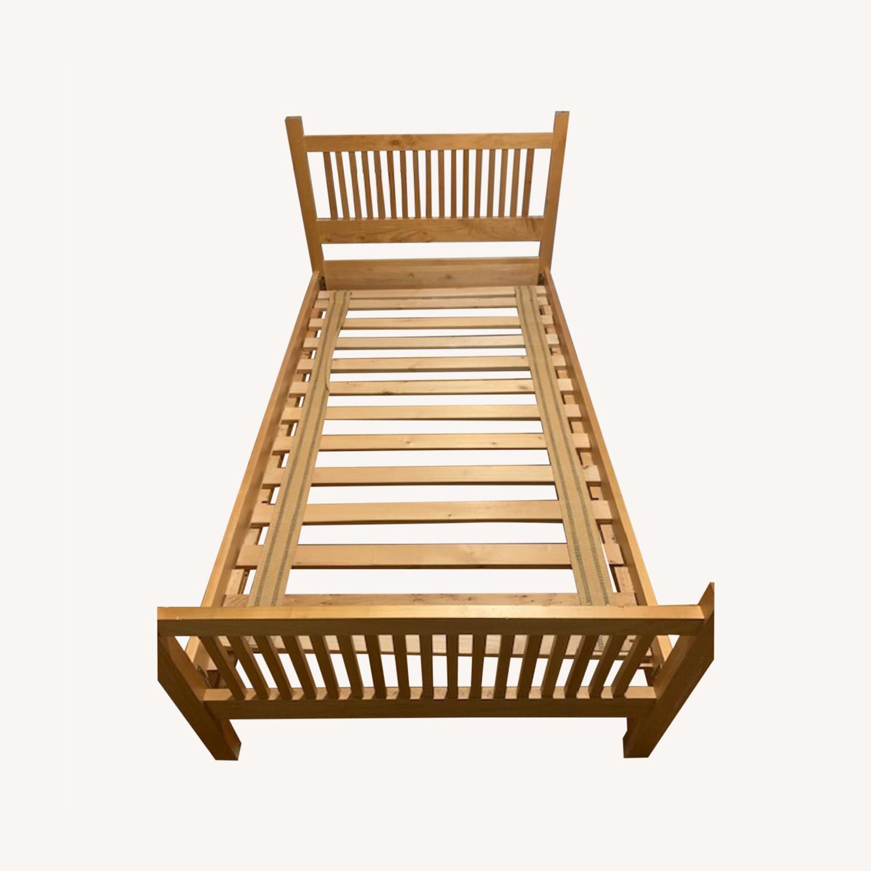 Room & Board Maple Bed Frame - image-0