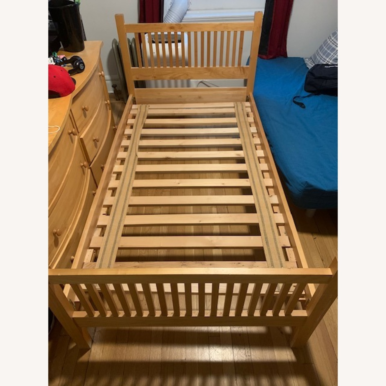 Room & Board Maple Bed Frame - image-1
