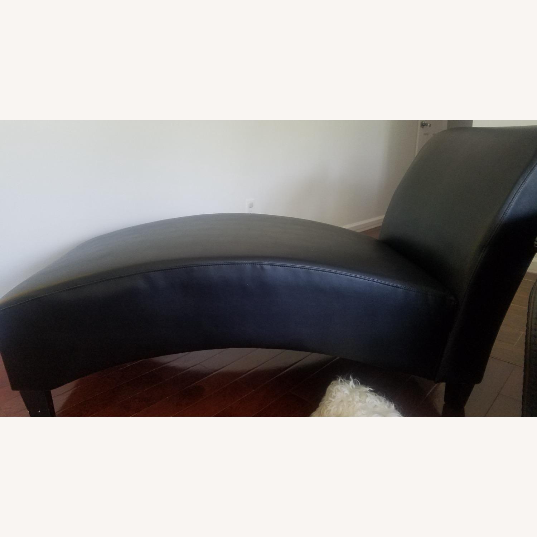 Wayfair Brennan Leather Chaise Lounge - image-2