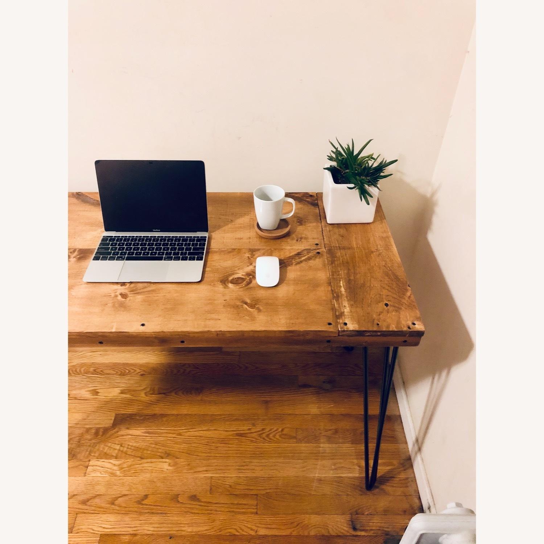 Handmade Desk - Walnut - Mid Century Modern - image-3