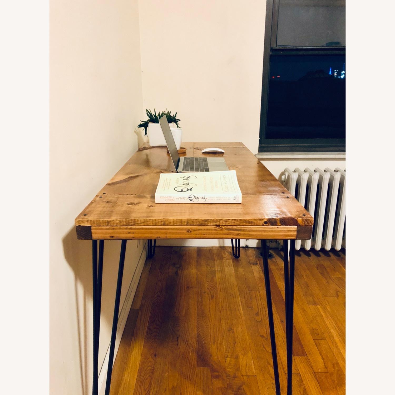 Handmade Desk - Walnut - Mid Century Modern - image-4
