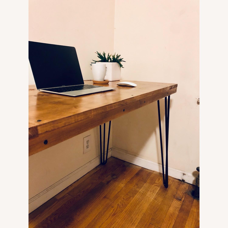 Handmade Desk - Walnut - Mid Century Modern - image-2
