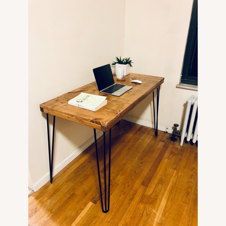 Handmade Desk - Walnut - Mid Century Modern - image-5