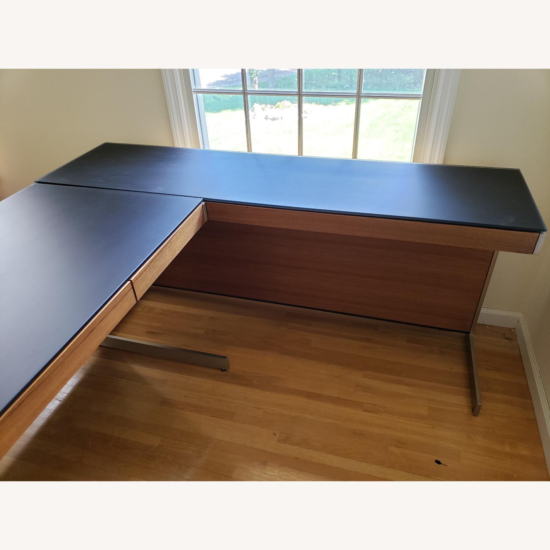 BDI Sequel Office - Side Desk Return in Walnut - image-2