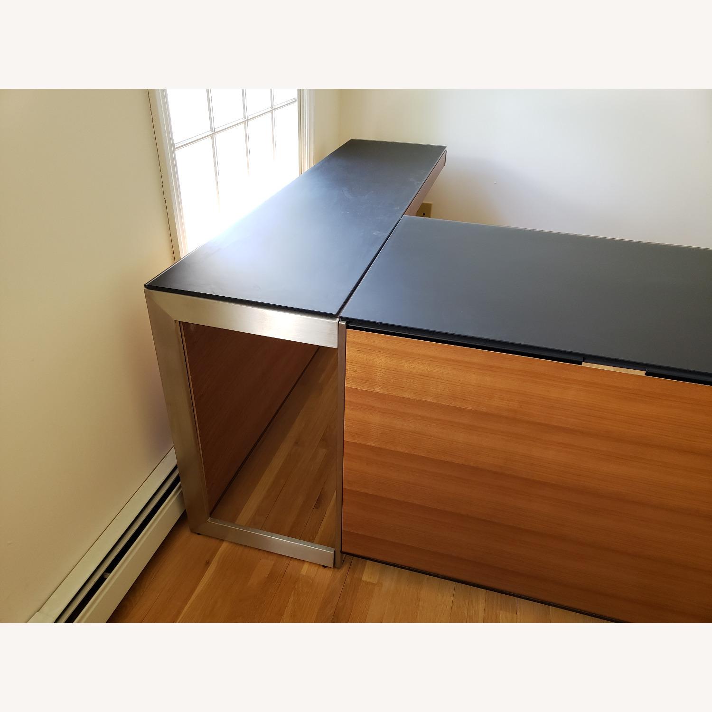 BDI Sequel Office - Side Desk Return in Walnut - image-3