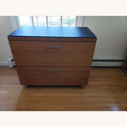 Used BDI Sequel Office - Lateral File in Walnut for sale on AptDeco