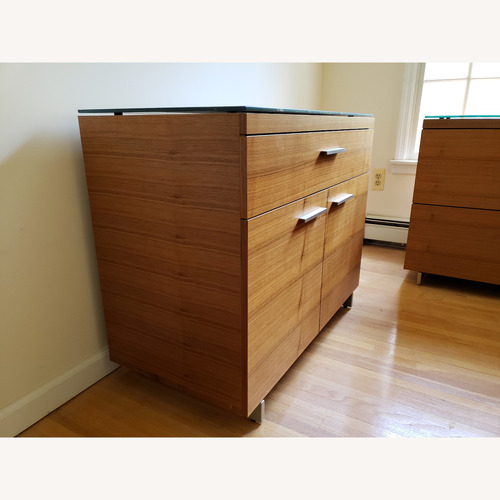 Used BDI Sequel Office - Storage Cabinet in Walnut for sale on AptDeco