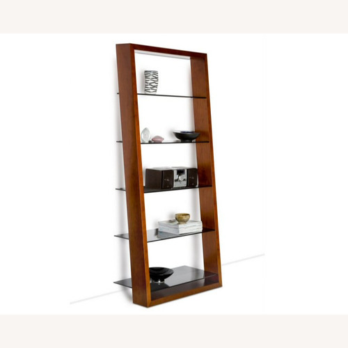 Used BDI Sequel Office - Eileen Bookshelf in Walnut for sale on AptDeco
