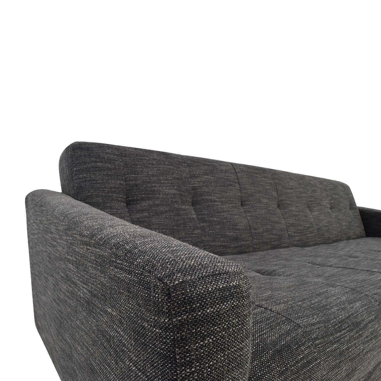 West Elm Kiko Futon Sofa - image-3