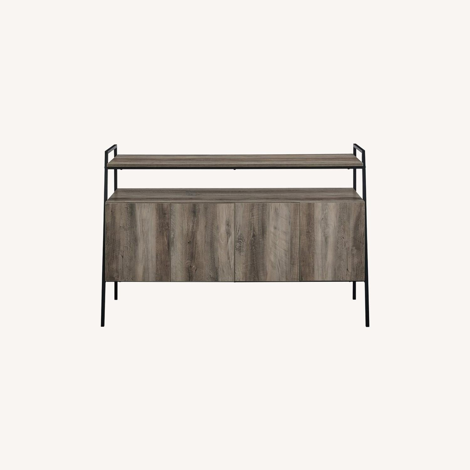 """Wayfair TV stand for TVs up to 58"""" - image-0"""