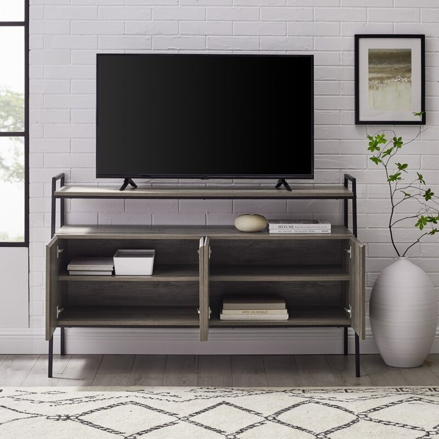 """Wayfair TV stand for TVs up to 58"""" - image-1"""