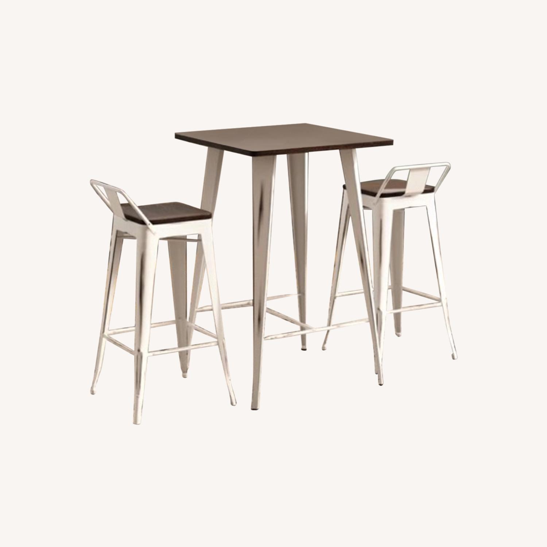 Wayfair Christie 3 - Piece Bar Height Dining Set - image-6