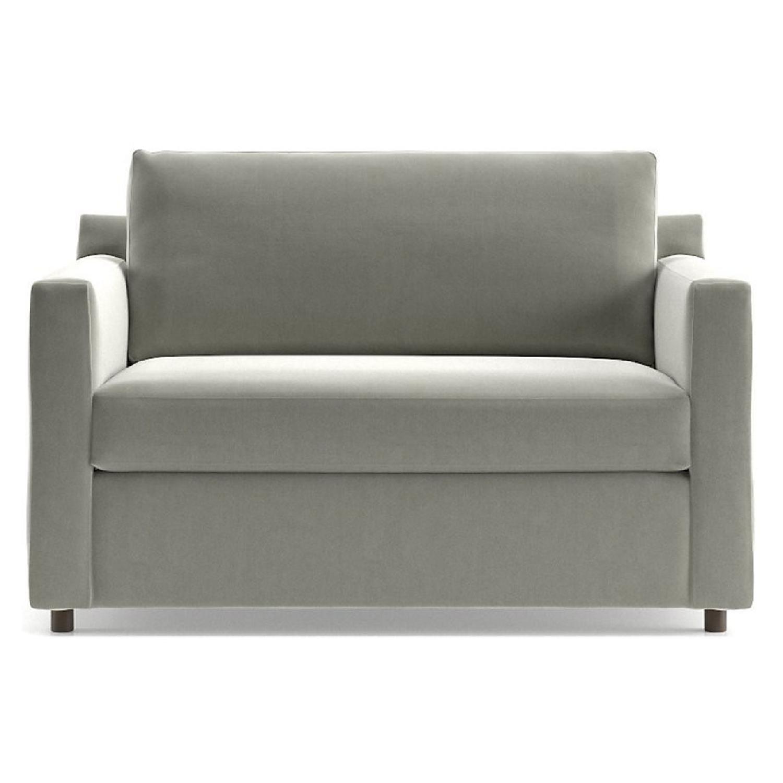 Crate & Barrel Twin Sleeper Sofa - image-4