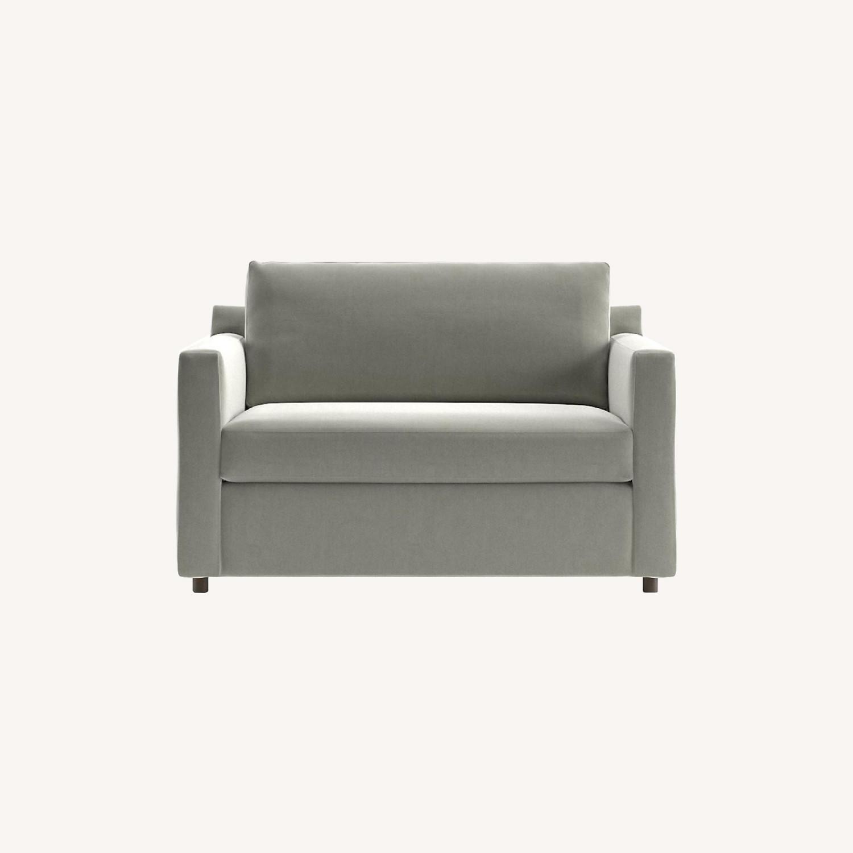 Crate & Barrel Twin Sleeper Sofa - image-0