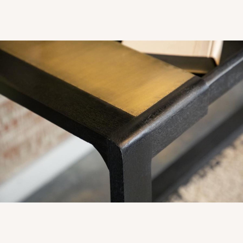 Writing Desk In Mango Wood & Rustic Black Finish - image-4