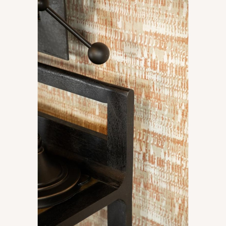 Writing Desk In Mango Wood & Rustic Black Finish - image-2