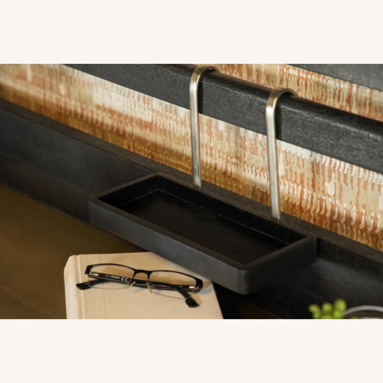 Writing Desk In Mango Wood & Rustic Black Finish - image-3