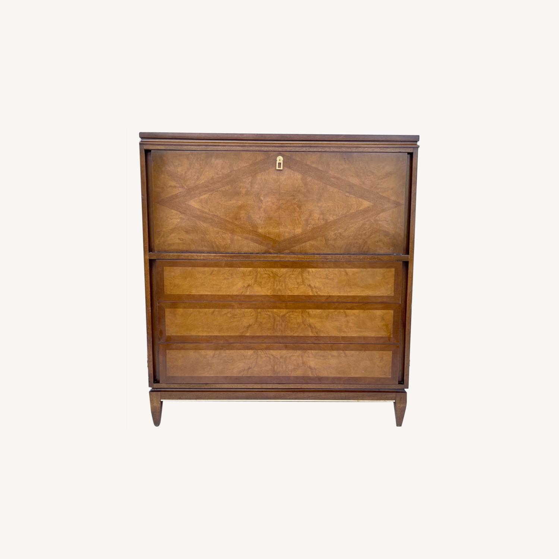 Mid-Century Highboy Dresser - image-0