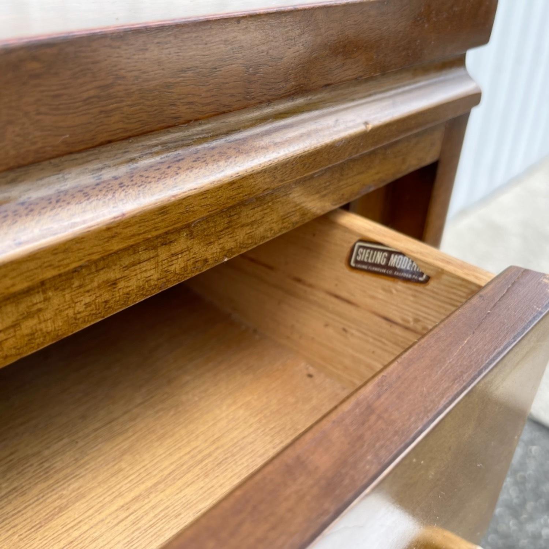 Mid-Century Highboy Dresser - image-17