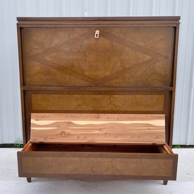 Mid-Century Highboy Dresser - image-4