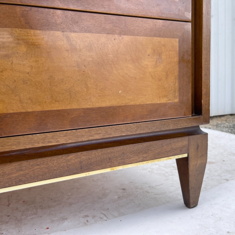 Mid-Century Highboy Dresser - image-13