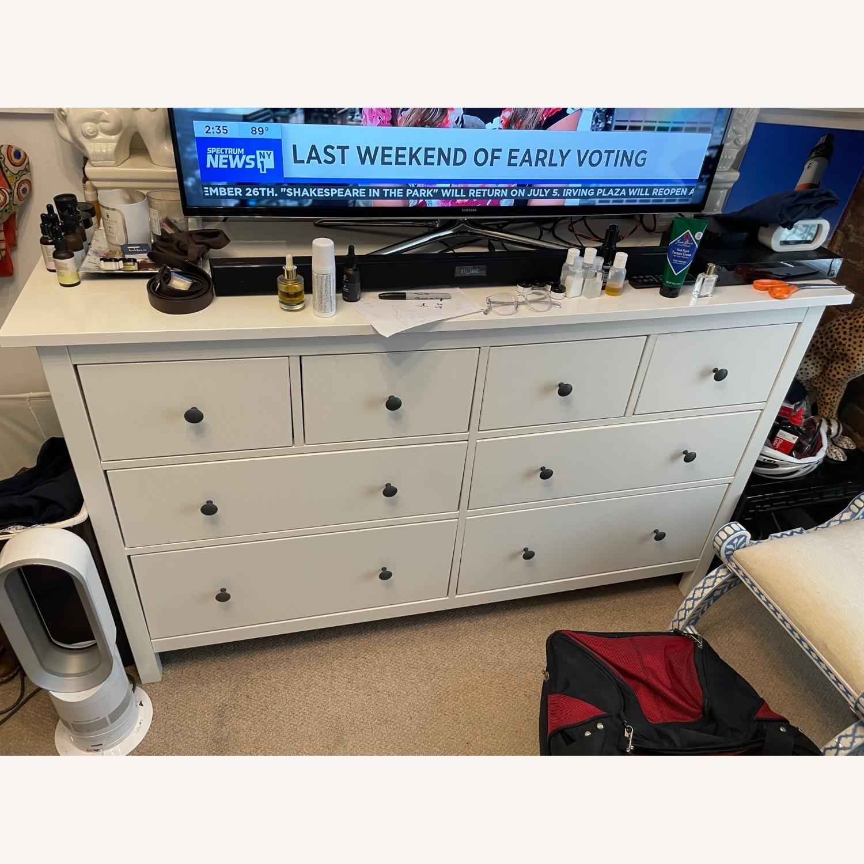 IKEA Hemnes 8-drawer Dresser White - image-1