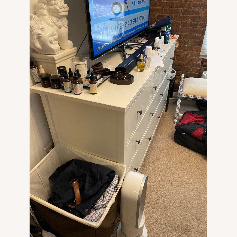 IKEA Hemnes 8-drawer Dresser White - image-3