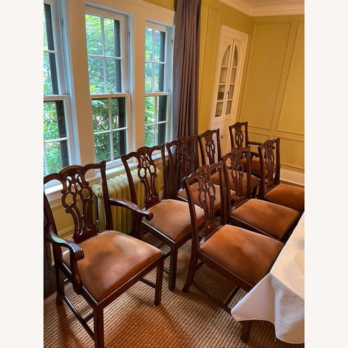 Used Maitland Smith Chippendale Numbered Dining Chairs for sale on AptDeco