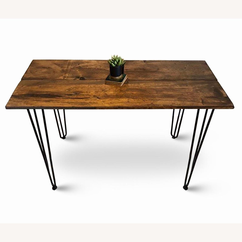 Reclaimed Desk & Hairpin Legs - image-1