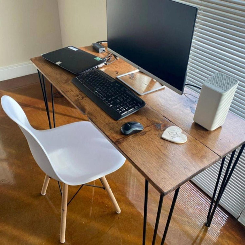 Reclaimed Desk & Hairpin Legs - image-3