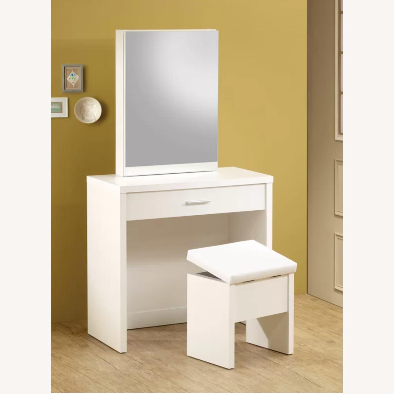 Wayfair Allison Vanity Set with Mirror - image-4